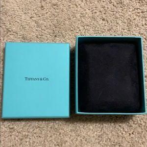 Tiffany jewelry necklace box